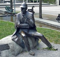 sherlock holmes quotes | Sherlock Holmes Honorary Citizen of Meiringen was sculpted by John ...