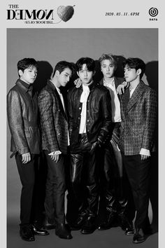 - The Book of Us : The Demon (Teaser Images - Group) : kpop Fandom, K Pop, Teaser, Young K Day6, Warner Music, Jae Day6, Day6 Dowoon, Kpop Posters, Korean Boy