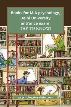 In this article, we will talk about everything you need to know about the selection of books for your M.A psychology entrance at Delhi University. Masters In Psychology, Entrance Exam, University, Books, Libros, Book, Book Illustrations, Community College, Libri