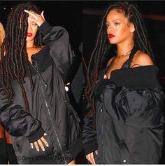 #Rihanna #Faux #Locs #Beauty