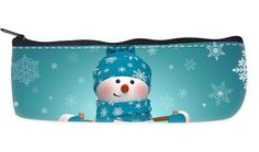 http://www.amazon.com/dp/B015046HP2 Snowman and Santa Claus Nylon Oxford Pencil Pouch Pencil Holders Stationery Bags with Zipper