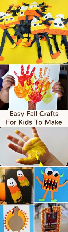 Crafts for kids-Fall