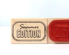 Stempel - Stempel Summer Edition  - ein Designerstück von Frau_Zwerg bei DaWanda