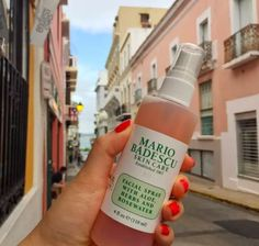 """Promising review: """"I have combination skin. During the summer, it gets oily very fast and during the winter it is extremely dull and dry looking. My skin is sensitive and most of the time has a pinkish red color to it when it is dry and irritated. However, after using this spray, my skin is much healthier looking and has a dewy, fresh look. It even helped calm down the redness. I haven't had this for a full week and I'm head over heels in love and can't wait to order more of this stuff. Holy…"""