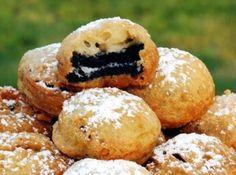 Deep Fried Oreo Cookies