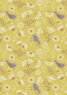 Lewis & Irene, A Little Bird Told Me, A Little Bird Told Me on Spring Yellow