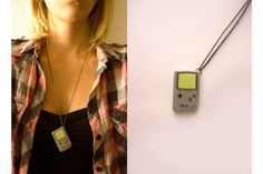 Junk - Gameboy - Very Limited handmade jewels by Morgane Morel