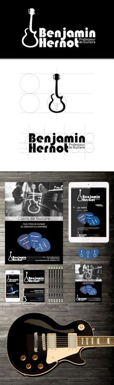 29 Best Guitar Business Card Images