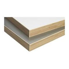 """NUMERÄR countertop, double-sided, dark gray wood effect edge, white Length: 73 1/4 """" Depth: 25 5/8 """" Thickness: 1 1/2 """" Length: 186 cm Depth: 65 cm Thickness: 3.8 cm"""