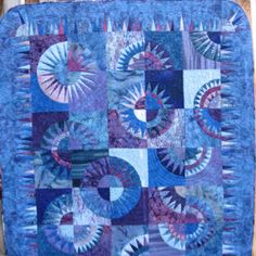 Blue Beauties - I made this in 2008 for a fundraiser.