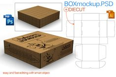 Check out Box Mock Up by akropol  on Creative Market