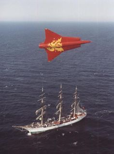 Fuerza Aérea Danesa SAAB Draken.