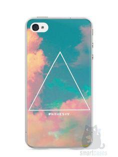 Capa Iphone 4/S Triângulo no Céu - SmartCases - Acessórios para celulares e tablets :)