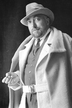 PAUL POIRET, French designer (1879 - 1944). His contributions to twentieth-century fashion have been likened to Picasso's contributions to twentieth-century art.