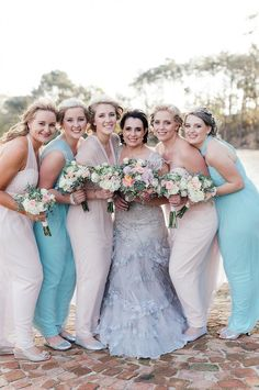 My bridesmaids bouqu