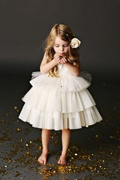 Tulle Flower Girl Dresses by Fattie Pie Tutu, Girls Dresses, Flower Girl Dresses, Dress Girl, Flower Girls, Communion Dresses, Bridesmaid Flowers, Baby Kind, Dress For You