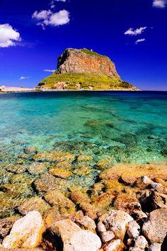 Monemvassia, Peloponnese Western Greece, Ionian Island_ Greece