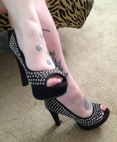 """My new """"Candies""""  $60 shoes I got brand new for $20"""