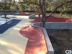 Private backyard skate park for our client in texas