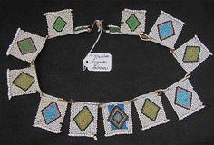 Zulu beadwork necklace -  before 1940