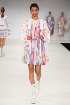 University of East London Graduate Fashion Show 2015. Click through to see full gallery on vogue.co.uk.