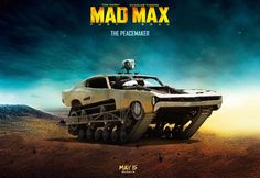 Mad Max Fury Road l top 10 des voitures du film l The Peacemaker