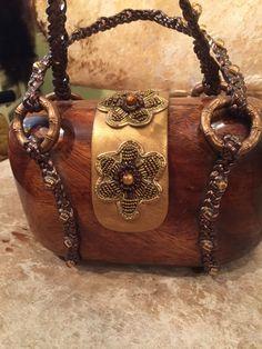 Rocio bag , for sale €99,- Wood