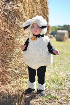 am absolutely in love with Hudson's Halloween costume. It's the first I am absolutely in love with Hudson's Halloween costume. It's the first . -I am absolutely in love with Hudson's Halloween costume. It's the first . Kids Sheep Costume, Baby Lamb Costume, Sheep Costumes, Nativity Costumes, Baby Fancy Dress Costume, Farm Animal Costumes, Halloween Costume Contest, Halloween Kostüm, Halloween Costumes For Kids