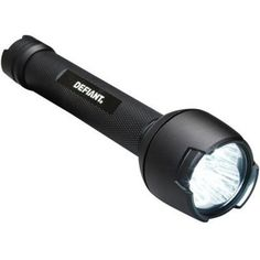 High, low, and flashing setting. Aluminum casing resists rust and corrosion for a long life. Includes flashlight and batteries so you can start using your flashlight. Dry location use only. Flashlight Lyrics, Camping Lights, Mans World, See On Tv, Night Vision, Camping Gear, Home Depot, Gears, Lanterns