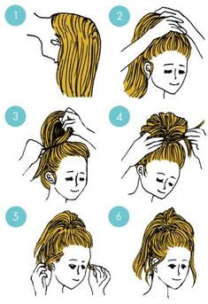 quick hairstyle in 3 minutes- wonderful diy21