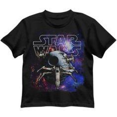Toddler Boy Star Wars X-Wing Fighter Galaxy Tee