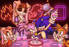 Birthday Songs, Belated Birthday, 15th Birthday, Shadow The Hedgehog, Sonic The Hedgehog, Sonic Generations, Sonic Adventure 2, Sonic Fan Art, The Sonic