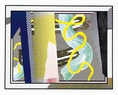 Roy Lichtenstein -F eflections on Brushstrokes - 1990 © Estate of Roy Lichtenstein/DACS 2014