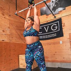 We are CVG! We make leggings, shorts, sports bras
