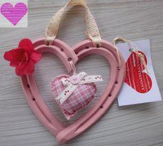 Cuore Portafortuna Spring Collection Rosa di RomantikPony su Etsy, €18.00