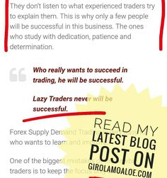 How to get the Best by #Forex Supply Demand Trading  Read my Latest Blog Post