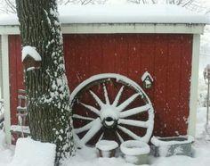 Season first big snow