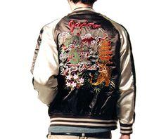 Sukajan Jacket - Japan - Brown