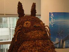 Totoro en Pommes de Pin <3