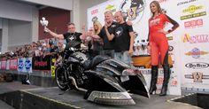 I st place in Bagger Category: Custom Chrome Custom Bike Championship Faaker See 2015