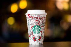 Este año podrás colorear el vaso navideño de Starbucks - Forbes Mexico