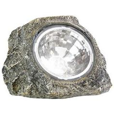 Keep your sidewalk well lit without extra energy bills using this set of six rock-shaped LED solar spot lights. These LED solar spotlights power up throughout the day to deliver stylish accent lighting at night. Patio Lighting, Landscape Lighting, Accent Lighting, Exterior Lighting, Lighting Ideas, Solar Spot Lights, Garden Deco, Solar Panels For Home, Solar Installation