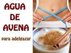 Receta: Agua de avena para adelgazar, ¡toma nota!  #Nutrición y #Salud YG > nutricionysaludyg.com