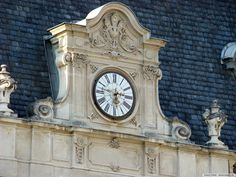 Clock in the Tower of Festetics Castle, Hungary