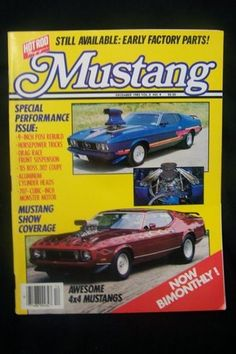 Mustang Monthly Magazine December 1985