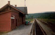 Portneuf, Québec - Canadian Pacific Railway station-gare - p Ozorak