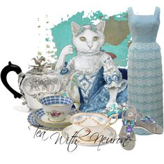 """""""Tea With Neurone"""" by moodycat on Polyvore"""