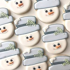 Frosty the Snowman Sugar Cookies