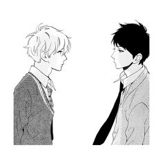 Hirunaka No Ryuusei We Heart It ❤ liked on Polyvore featuring anime and manga