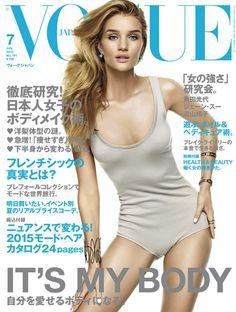 Publication: Vogue Japan July 2015 Model: Rosie Huntington Whiteley Photographer: Giampaolo Sgura